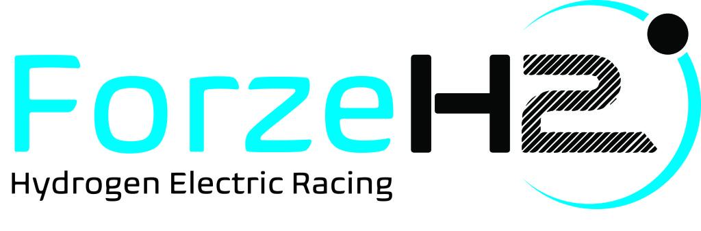 Forze logo blauw zwart